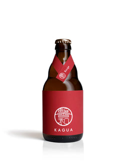 KAGUA BEER ROUGE (RED) 330ML (Case of 24 Units) | SakeStore