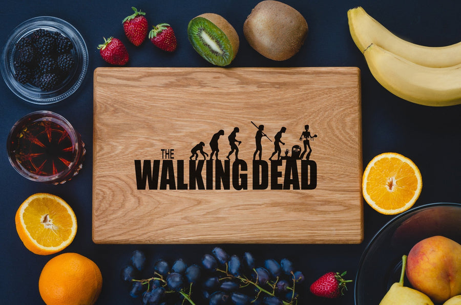 Walking Dead Cutting Board - TheHrdwood