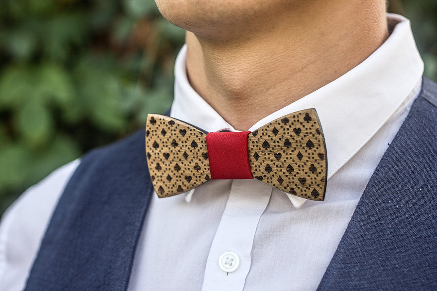 Wooden Bow Tie - TheHrdwood