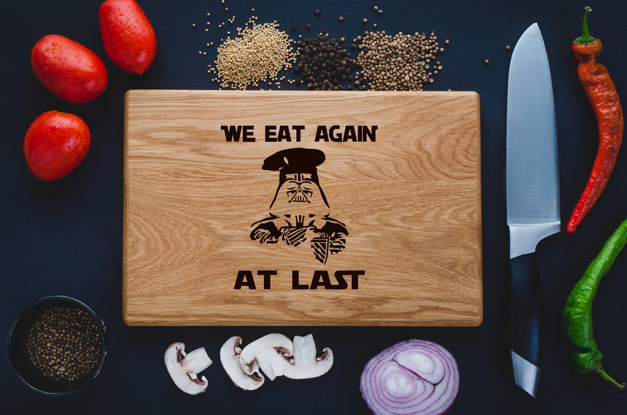 Star wars Cutting Board - TheHrdwood