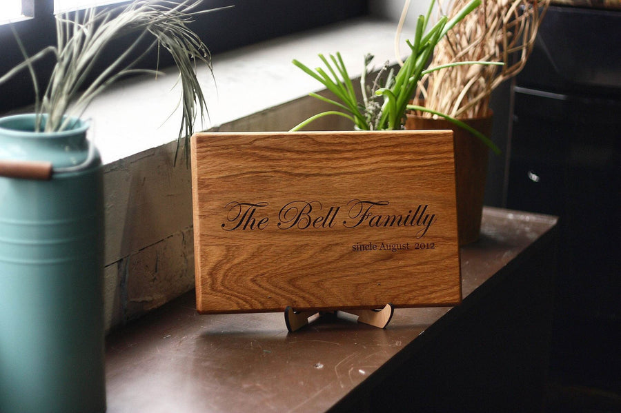 Personalized Cutting Board - TheHrdwood