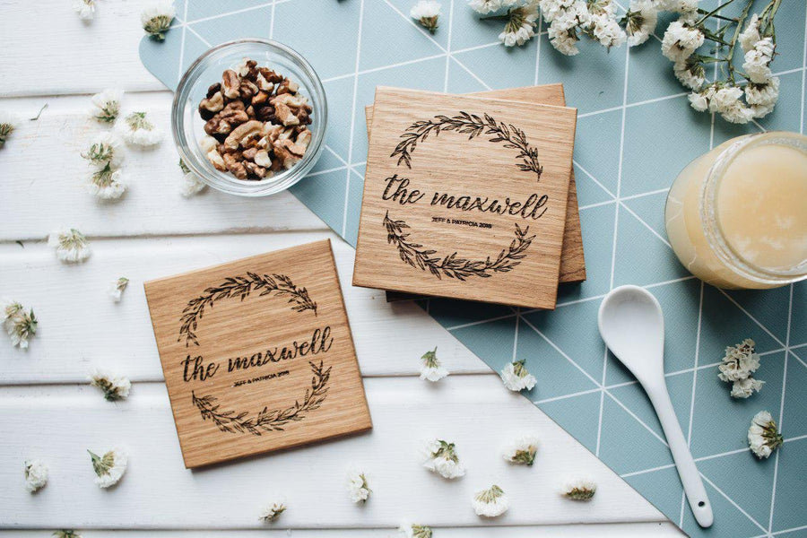 Wooden coasters embranchment