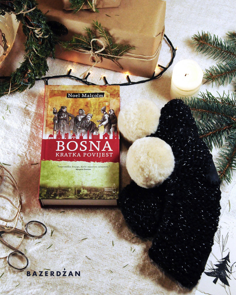 "<img src=""2020-11-16-115746804.jpg"" alt=""book noel malcom a short history of bosnia and woolen black slippers with pompom"">"