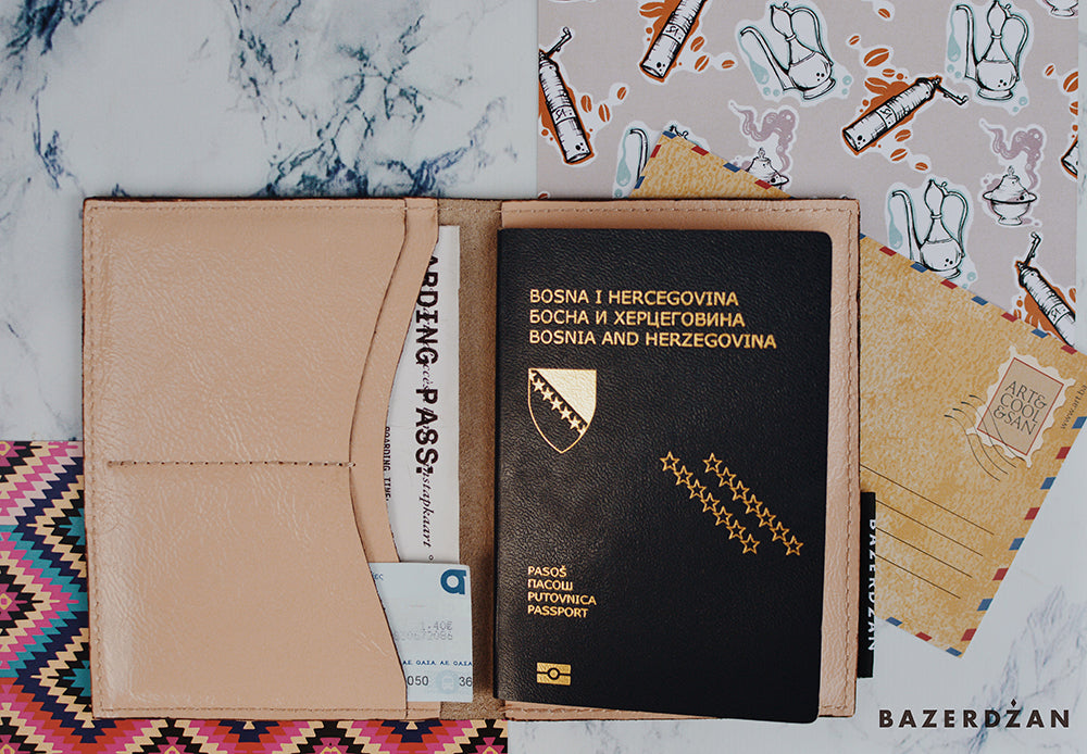 Passport Case (Material: Leather)