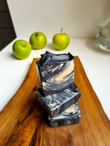 """Activated charcoal & Tea tree"" Soap by Shebek Soaps - Bazerdzan"