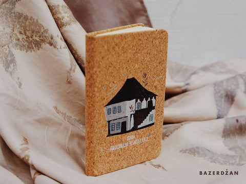"""Traditional Bosnian Houses"" Small Notebook - Bazerdzan"