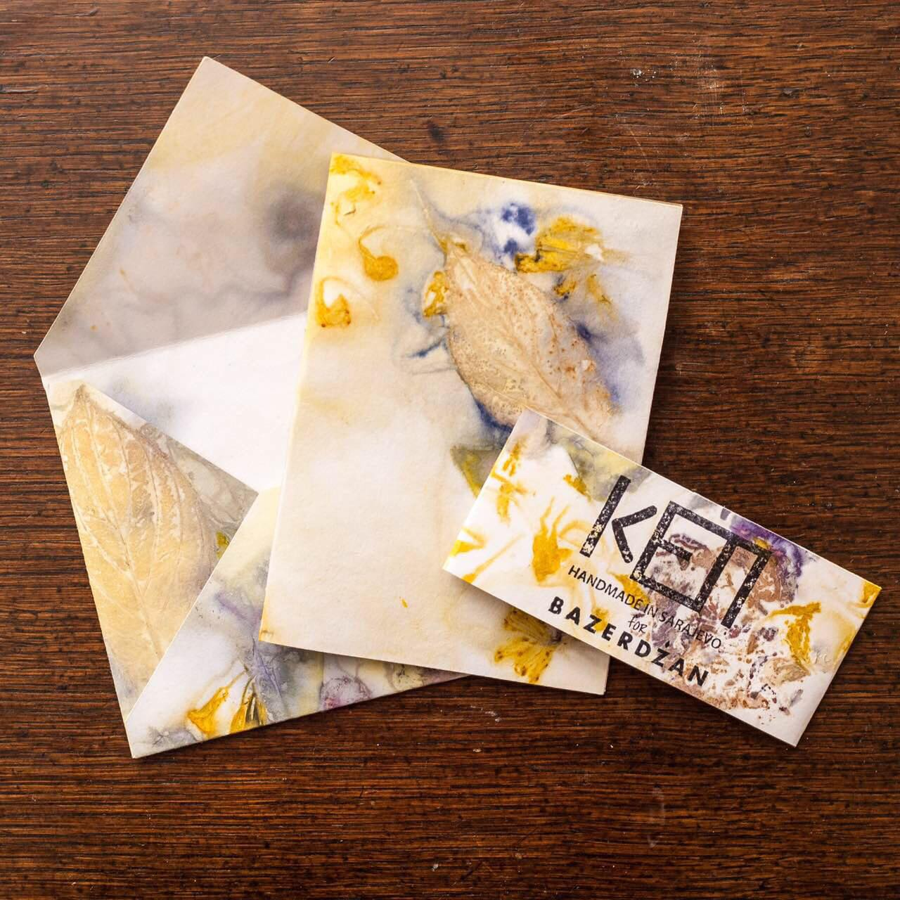 Eco Print Gift Cards