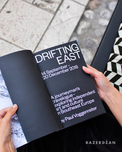 Book Drifting East - Paul Voggenreiter - Bazerdzan