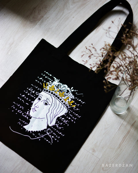 Catherine of Bosnia Tote Bag - by Rubyred