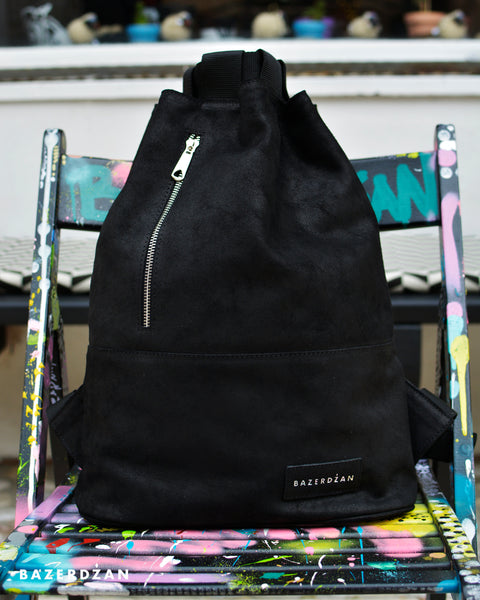Elegant Leather Backpack - Eight Colors Available