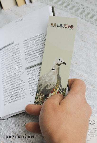 Sarajevo Bookmarks, Illustrated by Sasa Masks - Bazerdzan