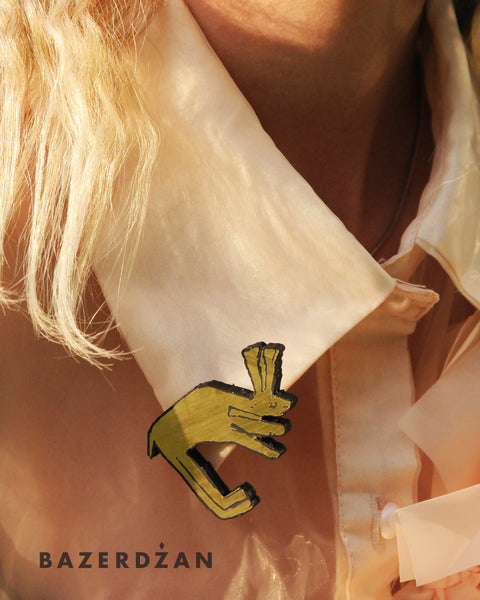 """The rabbit"" brooch by IVYQ studio - Bazerdzan"