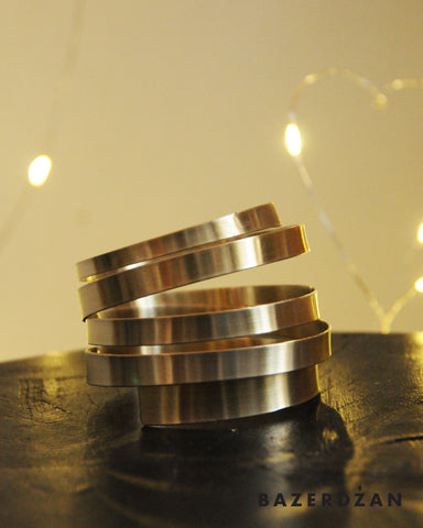 Zinc and Brass Bracelet - by Werkstatt - Bazerdzan