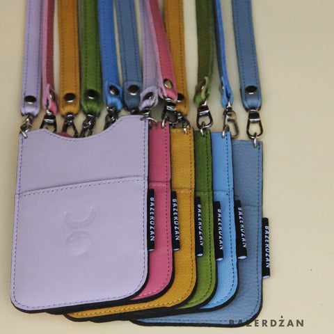 Mobile Phone Case (Material: Leather) - Bazerdzan