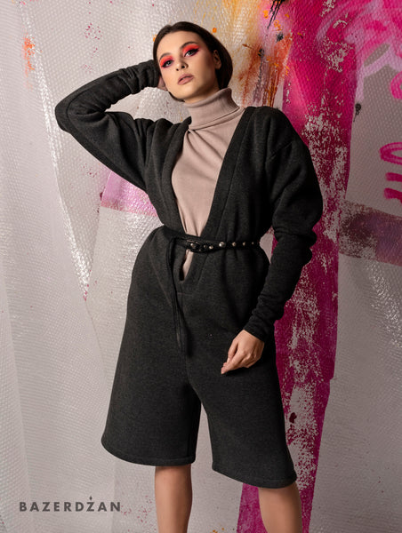 Comfy Warm Jumpsuit (Material: Cotton)