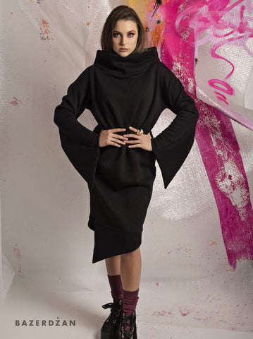 Triangle Sleeve Dress (Material: Cotton)