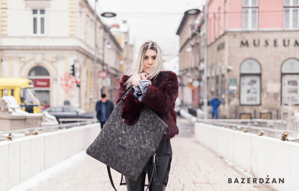 Baklava Bag, leather (different colors) - Bazerdzan