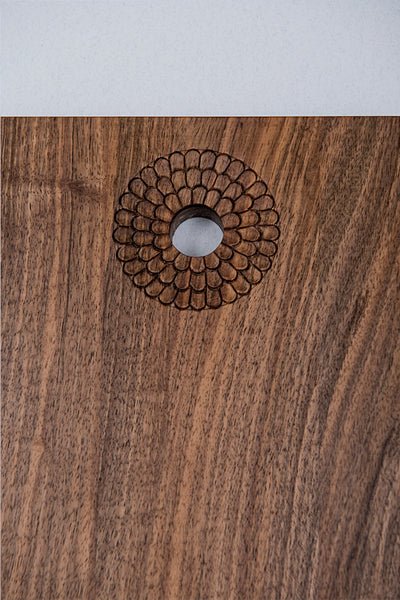 Cutting board - Flowy (Material: Walnut) | Bazerdžan