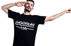 Jugoslavija T-Shirt (Material: 100% Organic Cotton, Color: Black)