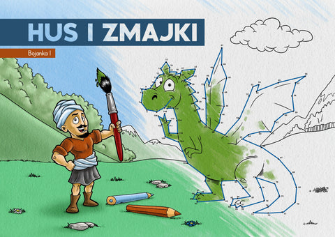 """Hus i Zmajki"" Coloring Book"