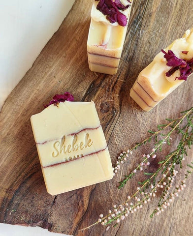 """Simple White"" soap by Shebek Soaps - Bazerdzan"