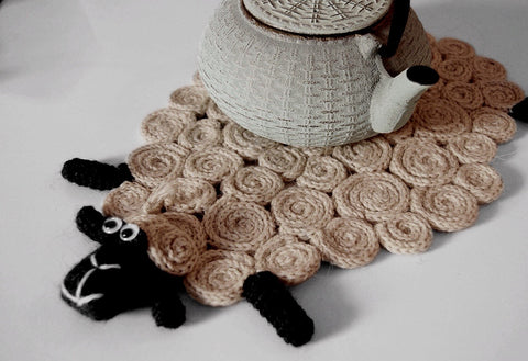 Sheep mat - different colours - Bazerdzan