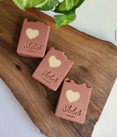 """Heart"" soap by Shebek Soaps - Bazerdzan"