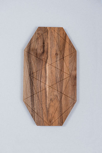 Cutting Board - Marakesh (Material: Walnut) - Bazerdzan