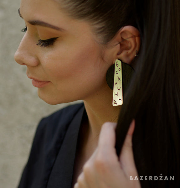 Bosančica Earrings - by IVYQ studio - Bazerdzan