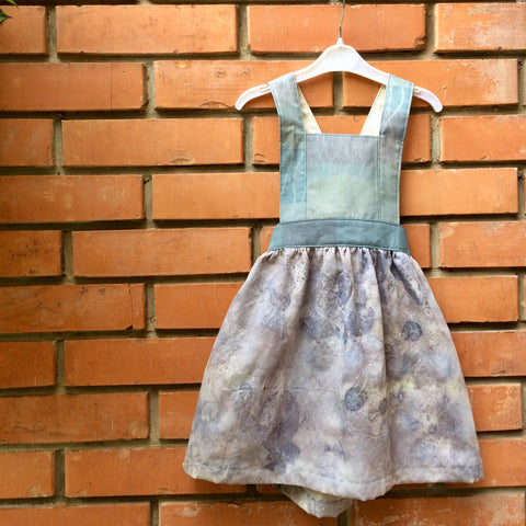 Keti Handmade Silk Baby Dress