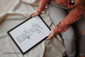 "Illustrations ""Stećak"" - Limited Edition"
