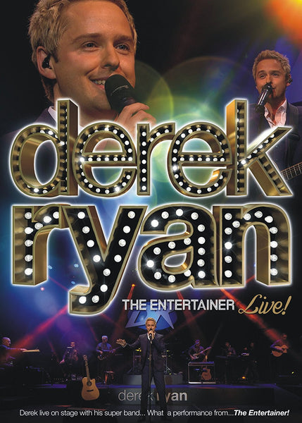 The Entertainer Live DVD - Derek Ryan