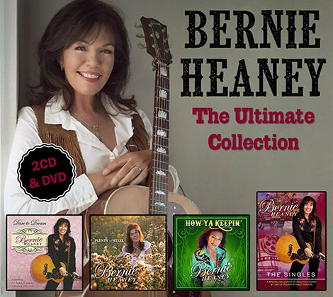 Bernie Heaney -  The Ultimate Collection 2 CD & DVD