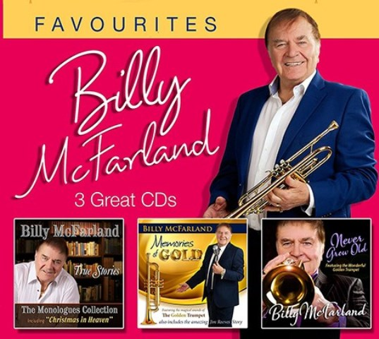 Billy McFarland   3 Great CD's