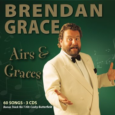 Brendan Grace - Airs & Graces 3 CD Set (60 Songs )