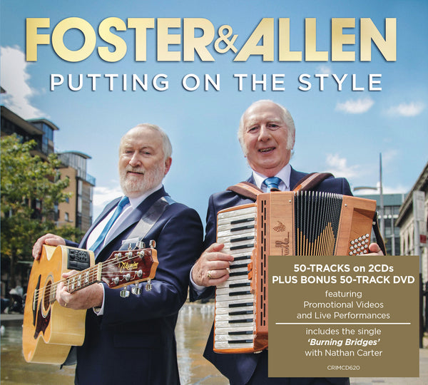 Putting On The Style - Foster & Allen  -   2 CD's & DVD