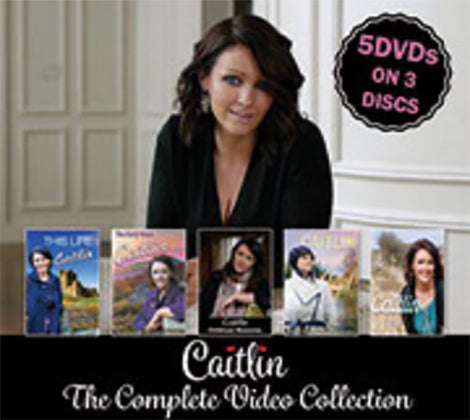 Caitlin The Complete Video Collection 5 DVD's on 3 Discs