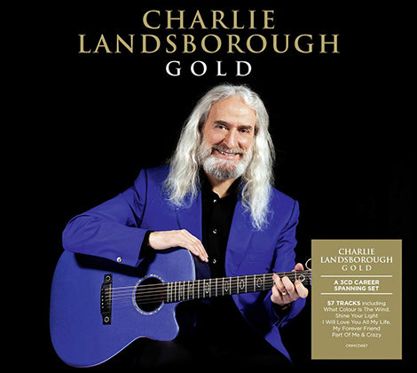 Charlie Landsborough -  Gold  3 CD Career Spanning Set (Pre Order 21st February)