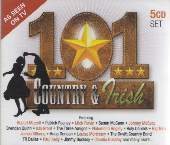 Various - 101 Country & Irish 5CD Set
