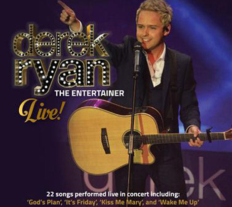 Derek Ryan - The Entertainer Live CD