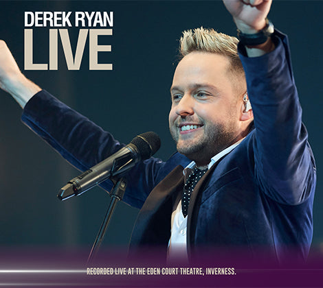 Derek Ryan Live CD  - Pre Order Friday 26th April