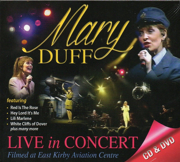 MARY DUFF - LIVE IN CONCERT CD & DVD