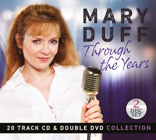 Through The Years - Mary Duff  - 20 Track CD & Double DVD Collection