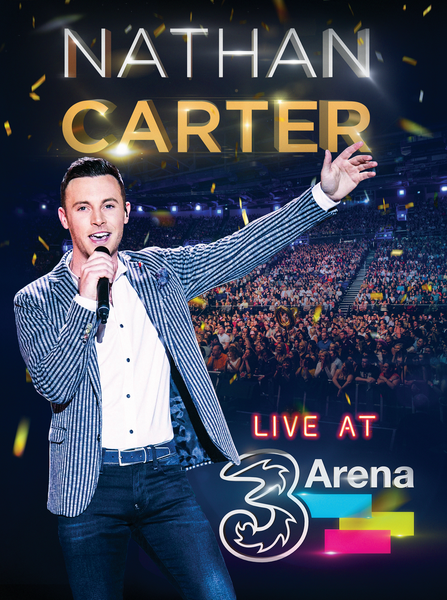 NATHAN CARTER  LIVE AT THE 3ARENA