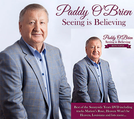 Paddy O'Brien Seeing is Believing - Deluxe Edition CD & Bonus DVD