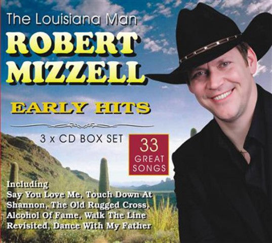 Early Hits - Robert Mizzell 3CD Box Set