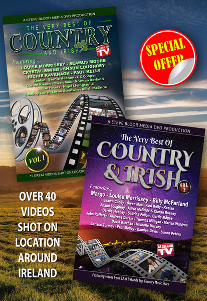 The Very Best of Country & Irish Vol 1 & 2  (As seen on TV)  SPECIAL OFFER !!!