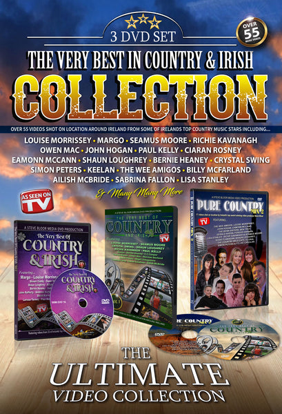 The Very Best of Country & Irish Collection -  3 DVD Set  (Special Offer)