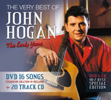 The Very Best of John Hogan The Early Years - DVD 16 Songs & 20 Track CD