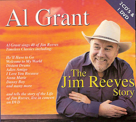 Al Grant  The Jim Reeves Story 2 CD's & 1 DVD